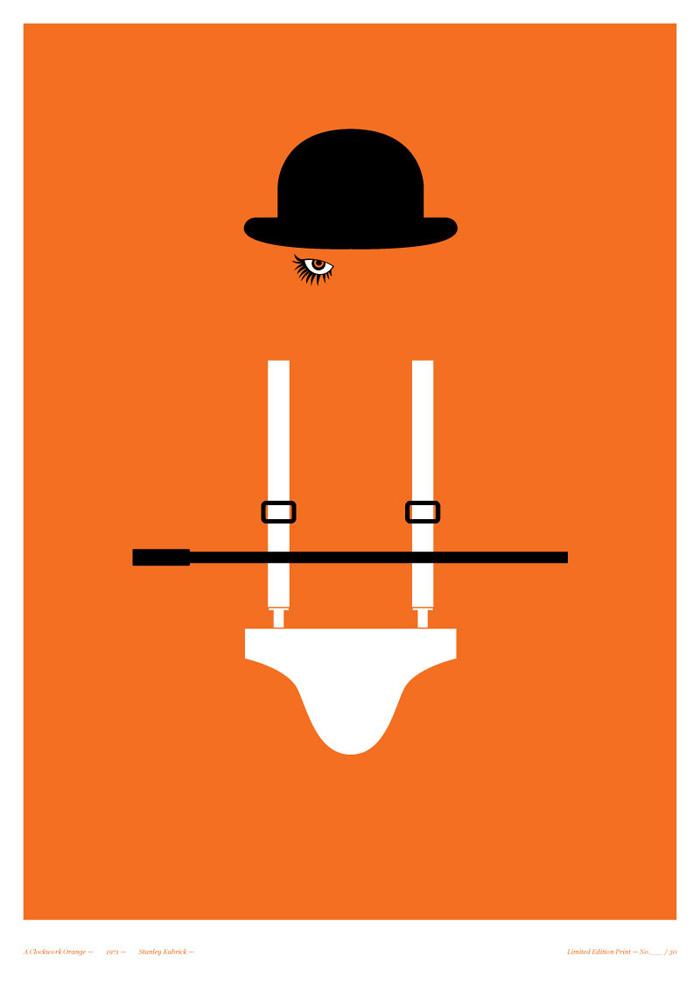 clockwork orange minimalist 1920x1200 - photo #27
