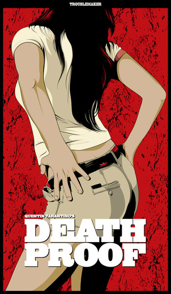 alternative movie poster for death proof by craniodsgn