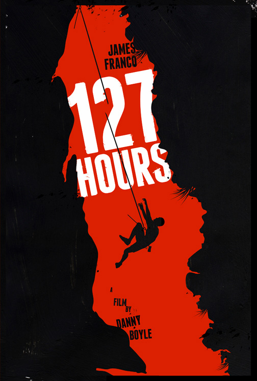 alternative movie poster for 127 hours by laz marquez