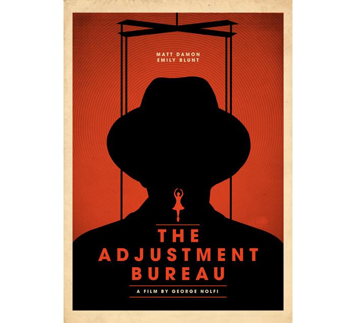 Alternative Movie Poster for The Adjustment Bureau by Matt ...
