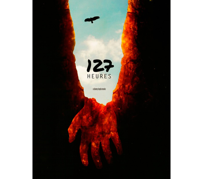 alternative movie poster for 127 hours by sixlightyears