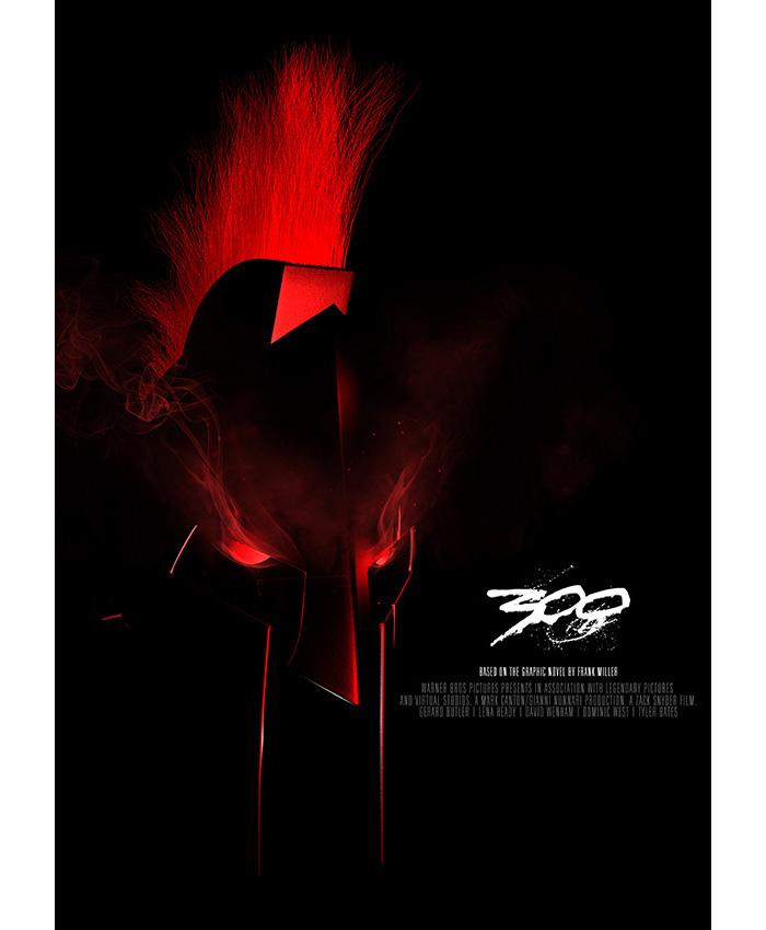 Alternative Movie Poster For 300 By Luke Choice