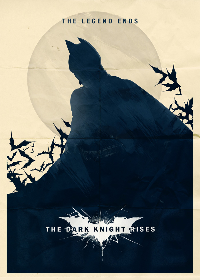 alternative movie poster for batman the dark knight rises