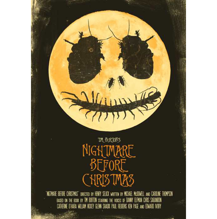 The Nightmare Before Christmas By Joel Amat Guell