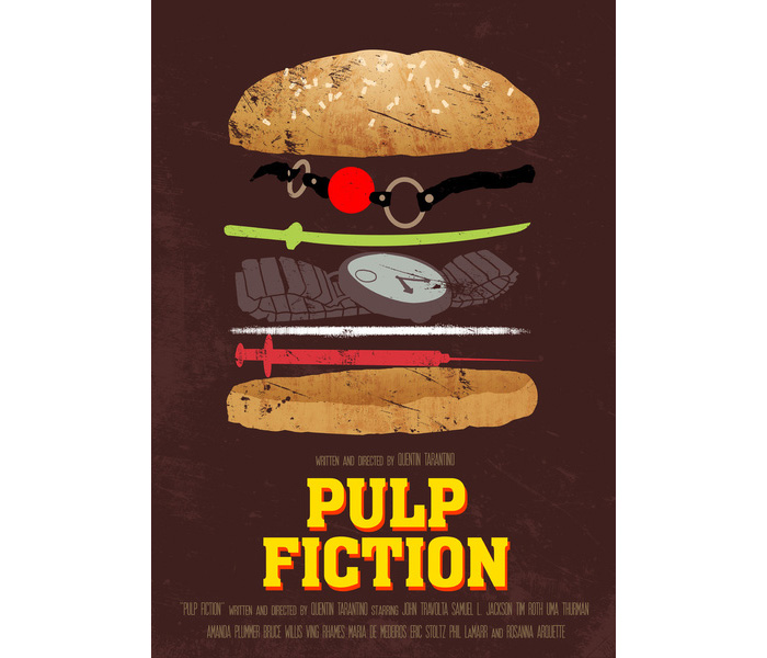 Pulp Fiction By Joel Amat Guell
