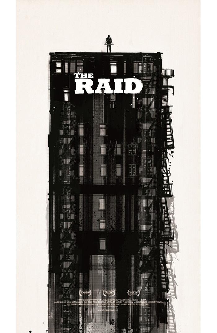 Alternative Movie Poster for The Raid by Jock