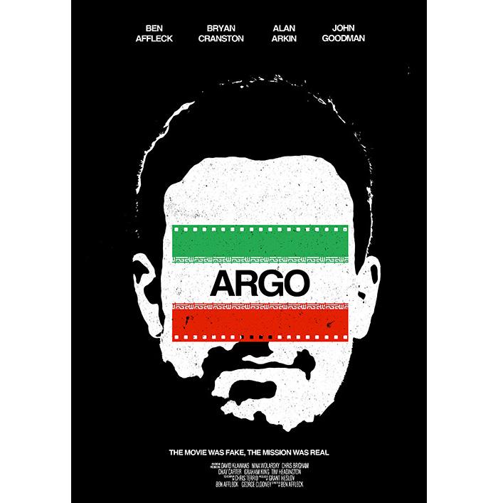 Alternative movie poster for Argo by Chris Marshall