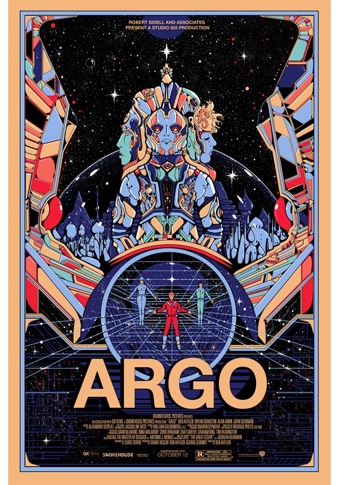 Alternative movie poster for Argo by Kilian Eng