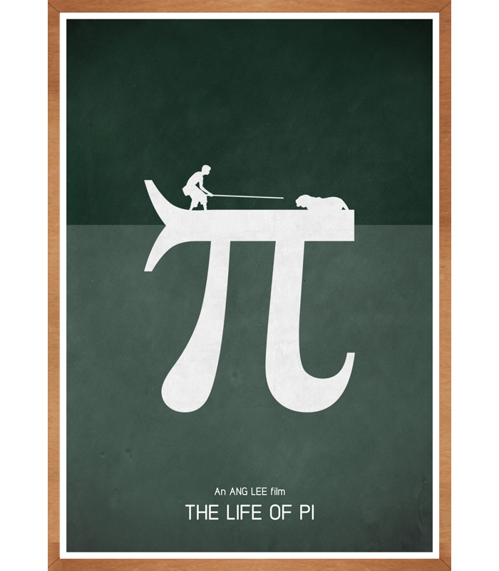 Alternative movie poster for the life of pi by jon glanville for Life of pi characterization