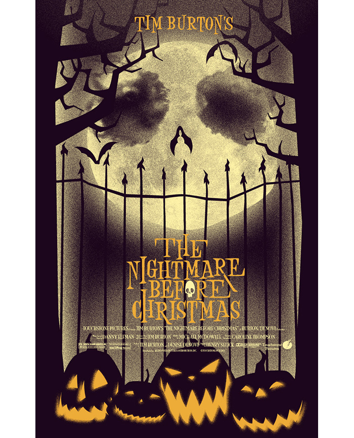 the nightmare before christmas by jacob mcalister - The Nightmare Before Christmas Poster