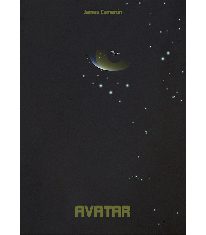 Avatar 2 Poster: Alternative Movie Poster For Avatar By Olaf Lyczba