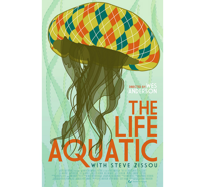 alternative movie poster for the life aquatic by cameron