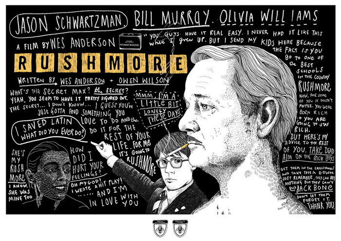 Rushmore by Peter Strain
