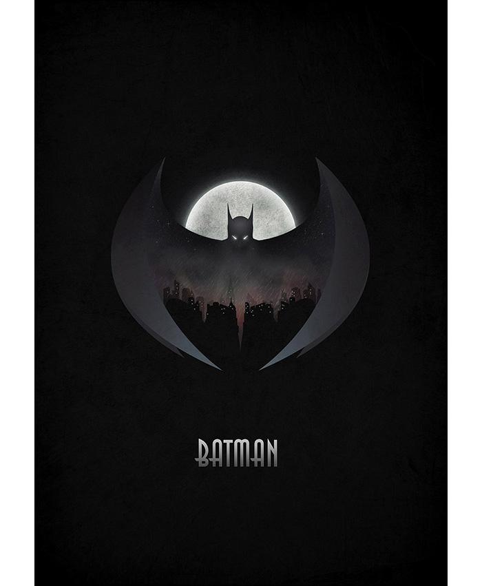 Alternative Movie Poster For Batman By Pawel Durczok