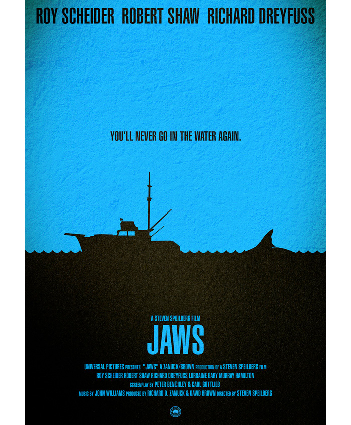 Jaws Archives - Home of the Alternative Movie Poster -AMP-