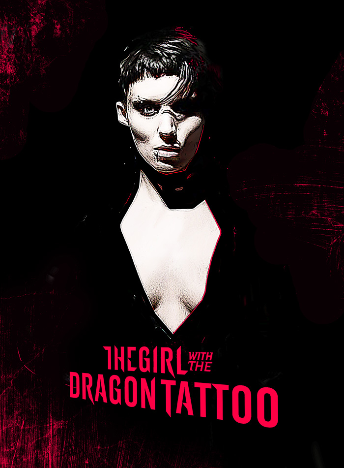 The girl with the dragon tattoo by yannis ger for The girl with the dragon tattoo story