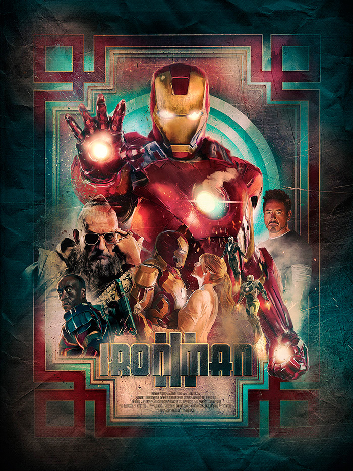Iron Man 2 Movie Posters From Movie Poster Shop
