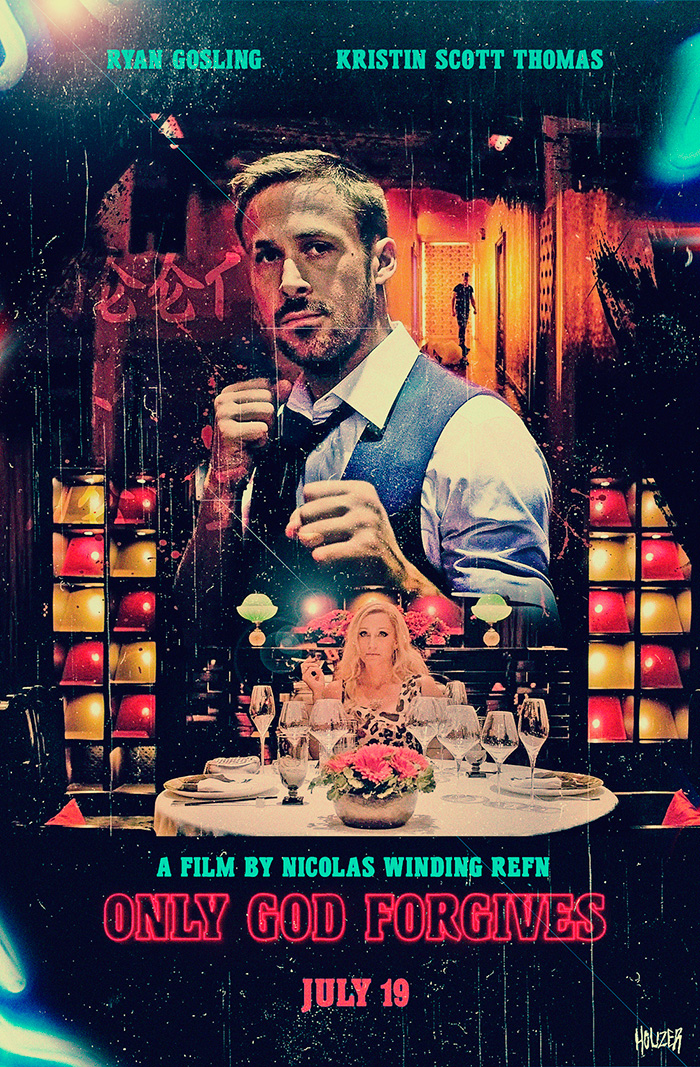 Alternative Movie Poster For Only God Forgives By John