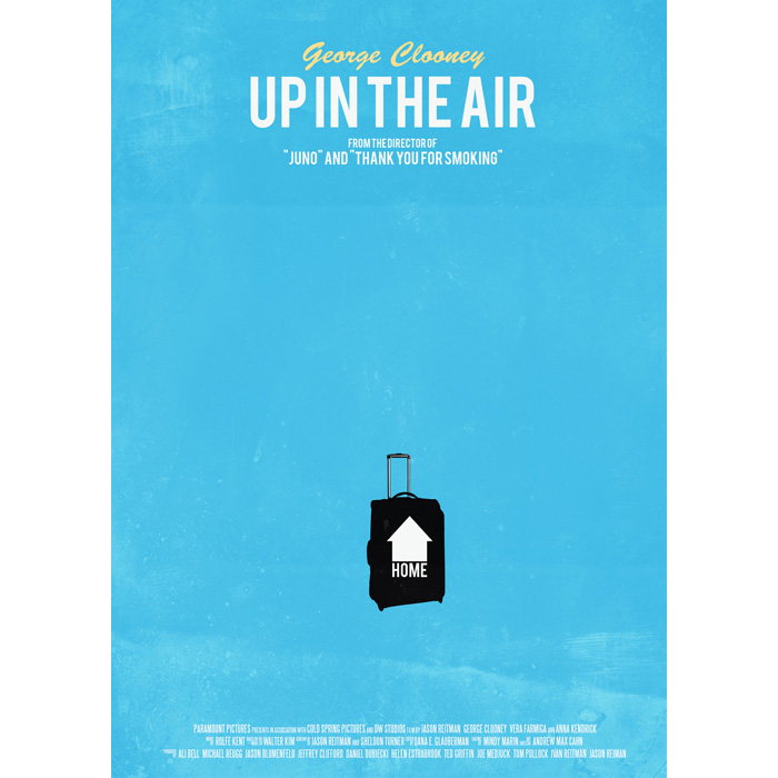movie analysis up in the air Up in the air is not a novel that i would have picked up, had it not been for my desire to see the movie i seem to cling to an ocdish need to read the book that the movie is based upon before i will allow myself to see it.