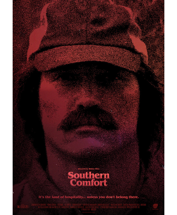 Alternative movie poster for Southern Comfort by Steve Marchal