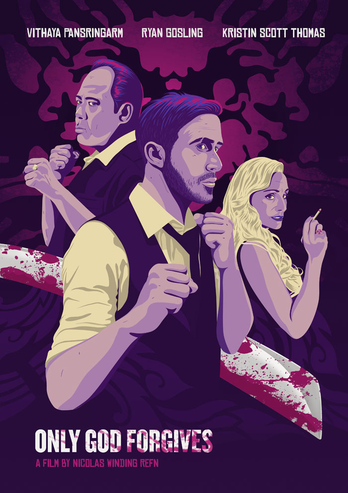 Only God Forgives Neon Poster Only God Forgives by C...