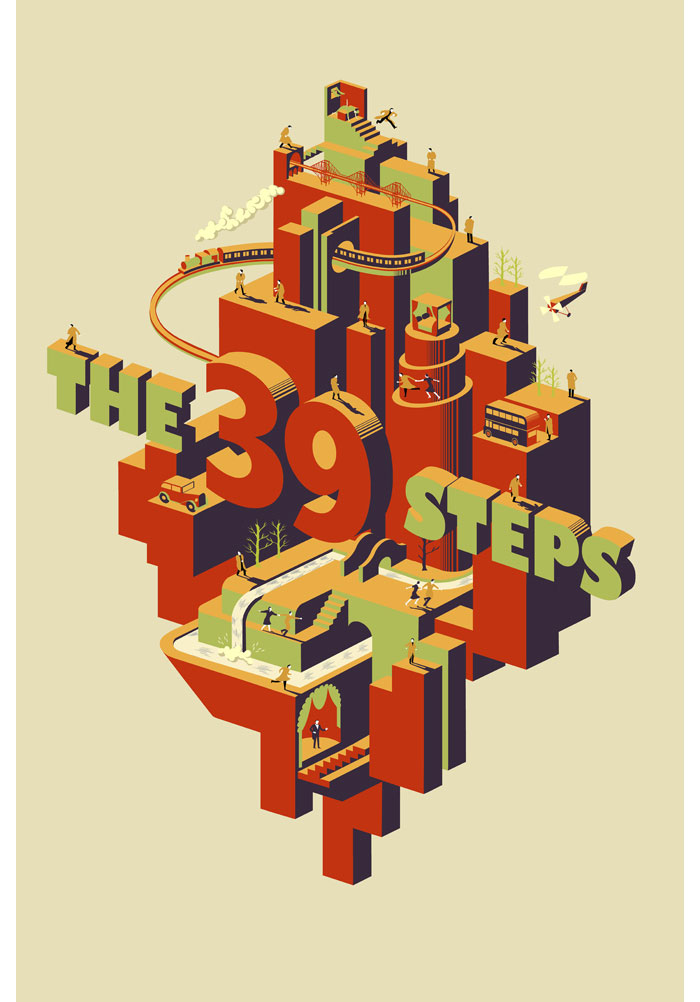 The 39 Steps by Adam Simpson