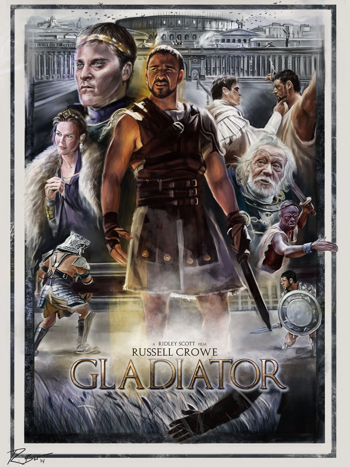 a review of the film the artistic gladiator Gladiator review by rob blackwelder on  the disaster artist movie review  wonder movie review this film may be based on rj palacio's fictional bestseller,.