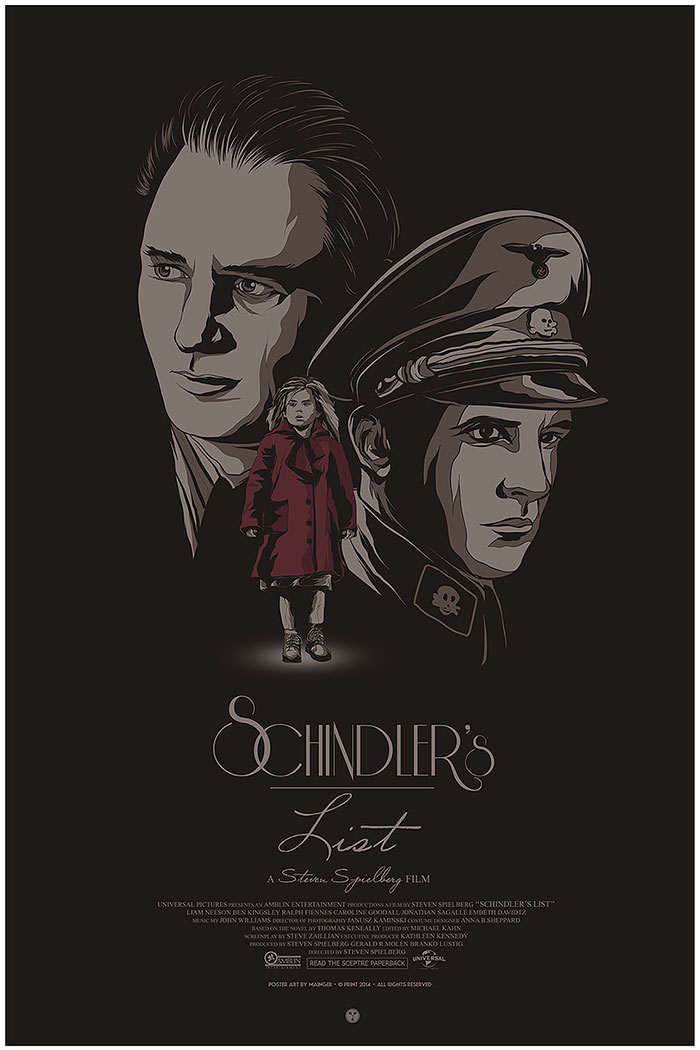 schindlers list by mainger germain