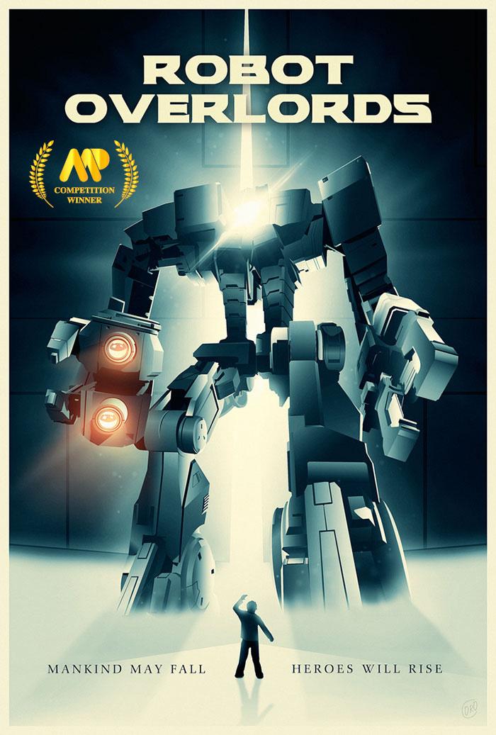 Benoit Penaud's Robot Overlords