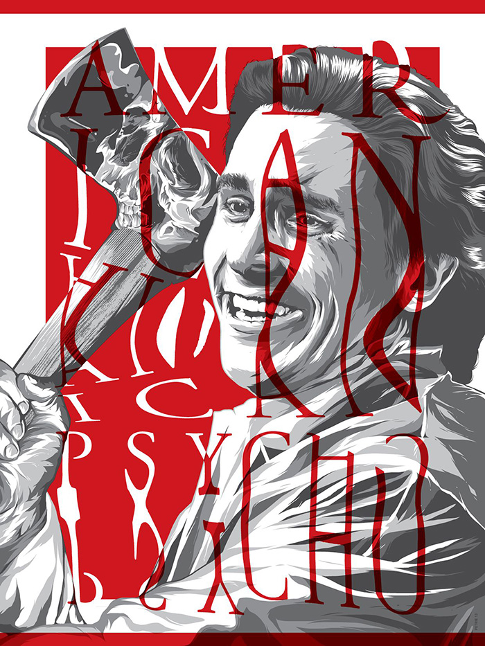 American Psycho by Anthony Petrie