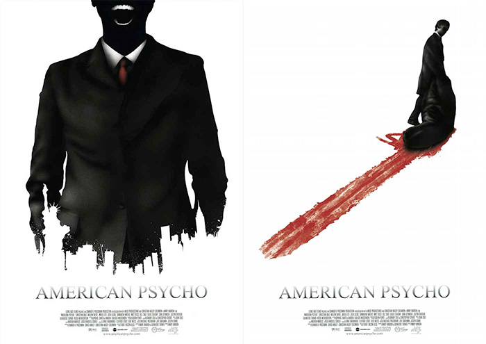 American Psycho double sided by Benedict Woodhead