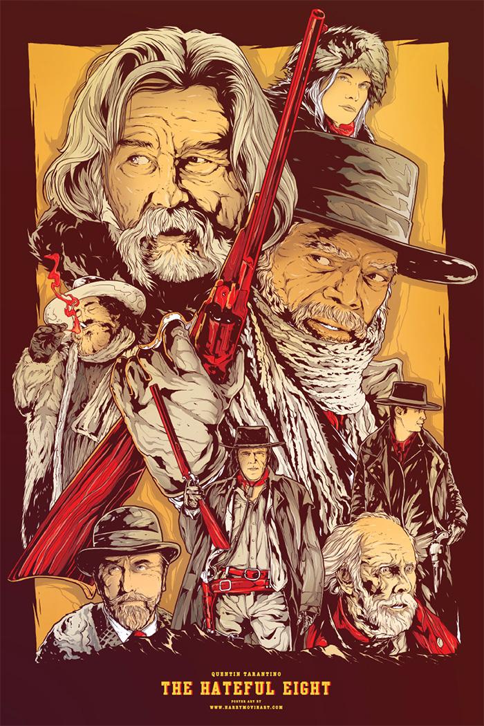 Movie art posters