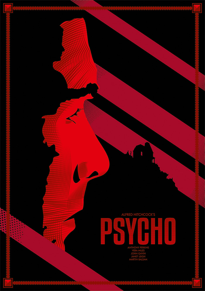 Psycho by Lafar88 - Home of the Alternative Movie Poster -AMP-