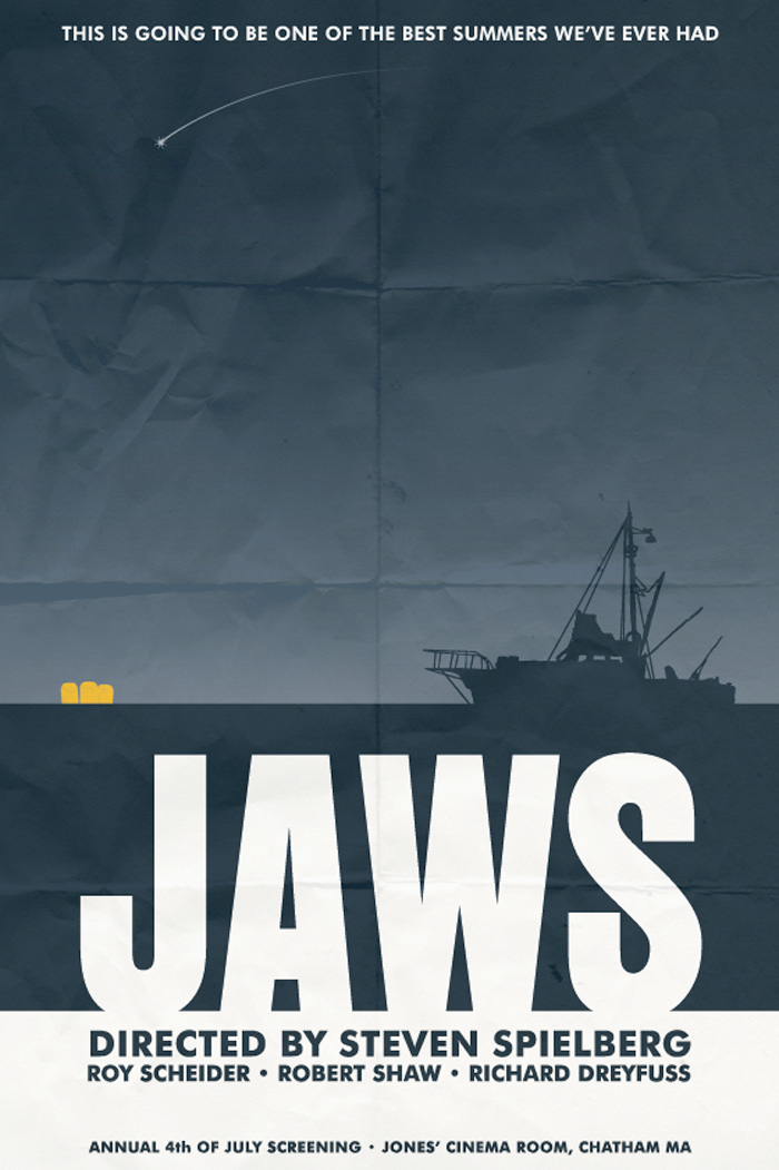 Jaws by Matthew Thomas - Home of the Alternative Movie ...