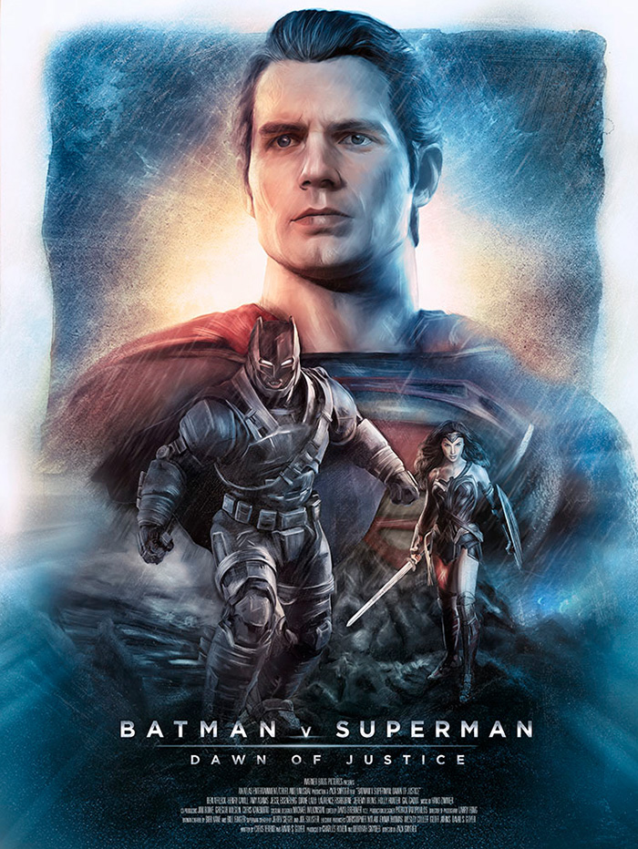 Batman V Superman Dawn Of Justice By Richard Davies