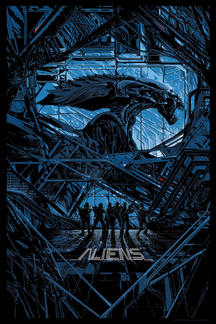 ALIENS alternative movie poster killian eng