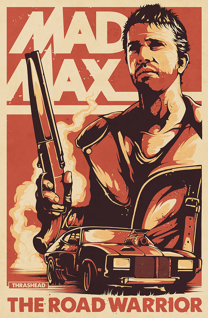 Assez Mad Max by Thrashead - Home of the Alternative Movie Poster -AMP- YW41