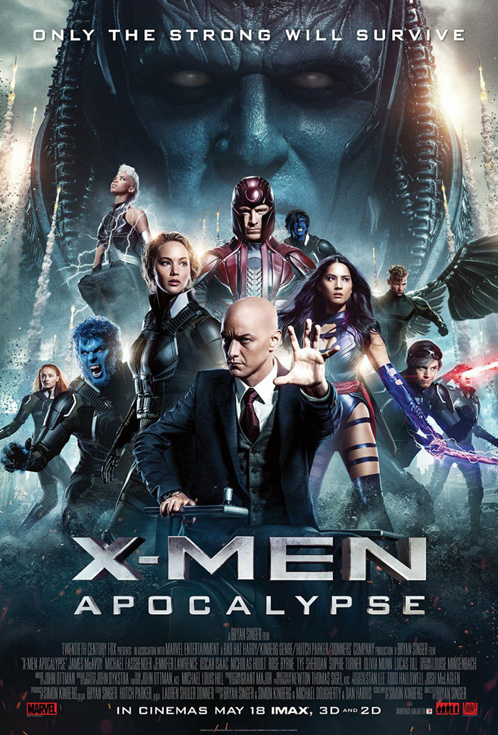 X-Men: Apocalypse Official Key Art