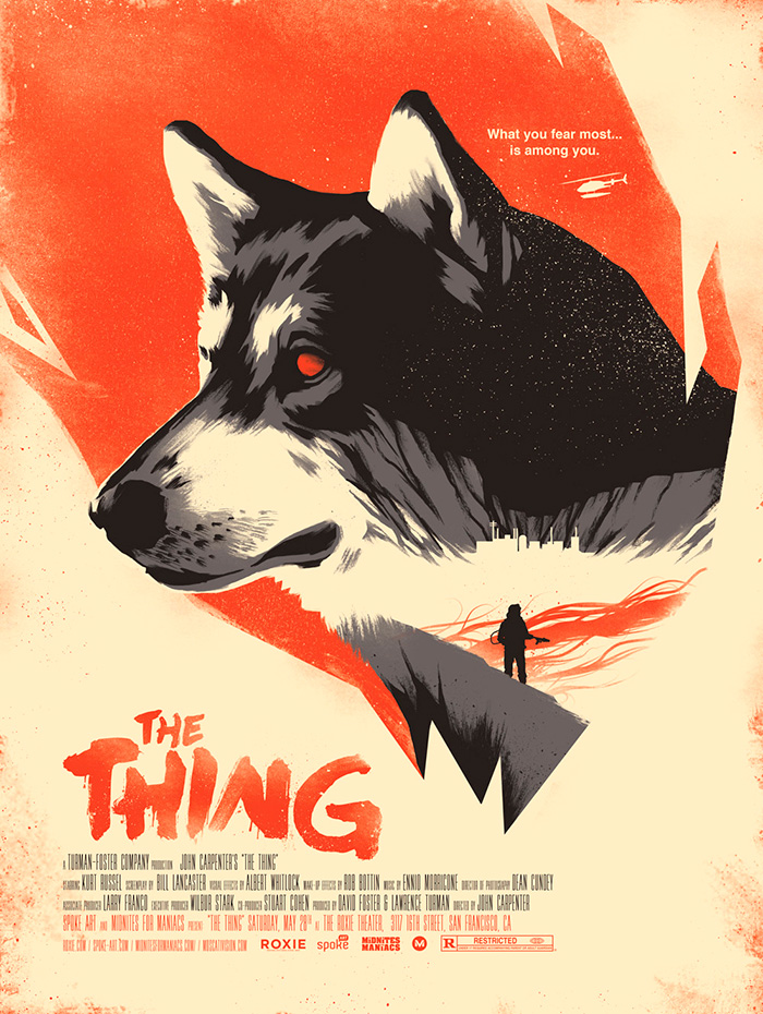 THE THING Alternative Movie Poster