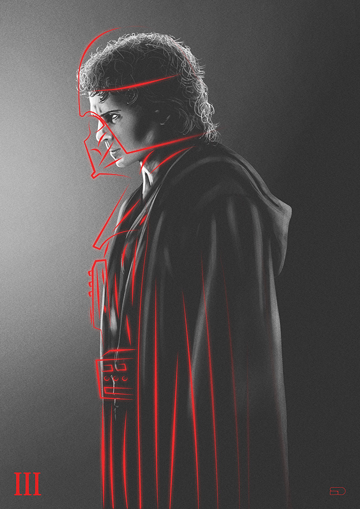 Star Wars Episode Iii Revenge Of The Sith By Sahin Duzgun Home Of The Alternative Movie Poster Amp