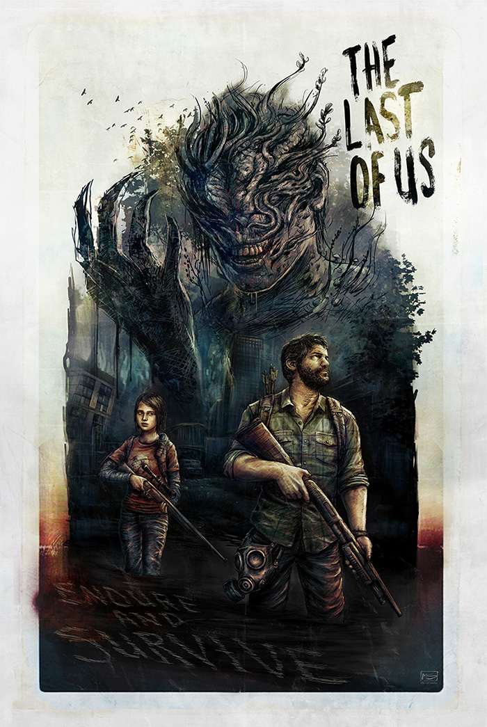 The Last Of Us By Michal Salata Home Of The Alternative Movie