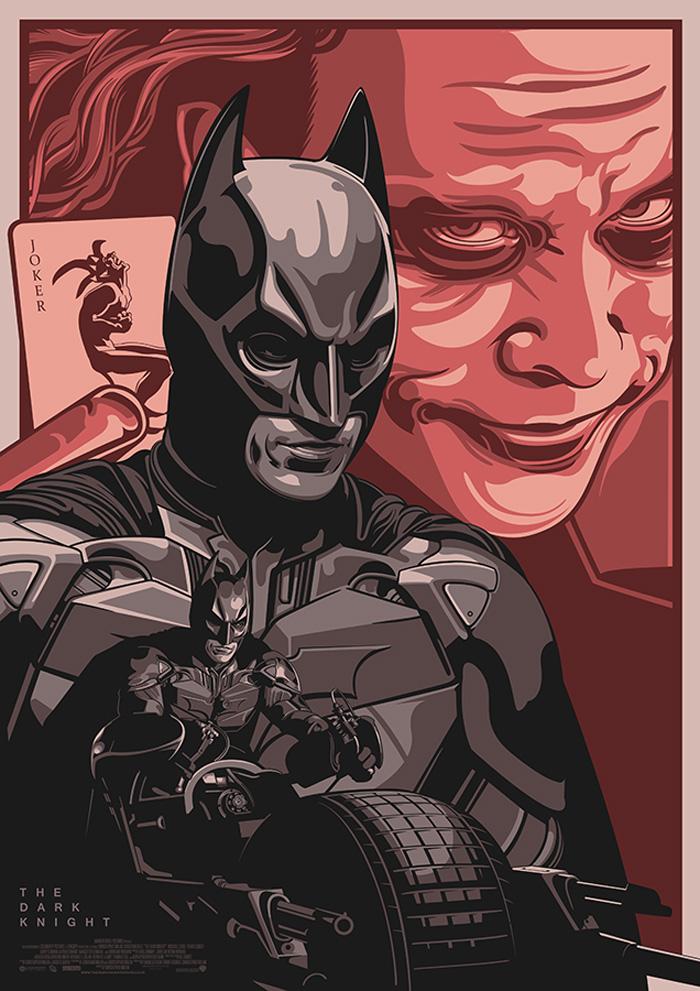 The Dark Knight by Amien Juugo