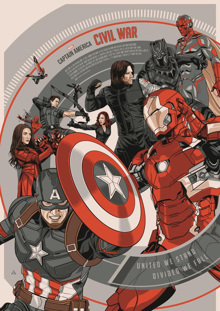 Captain America: Civil War by Amien Juugo