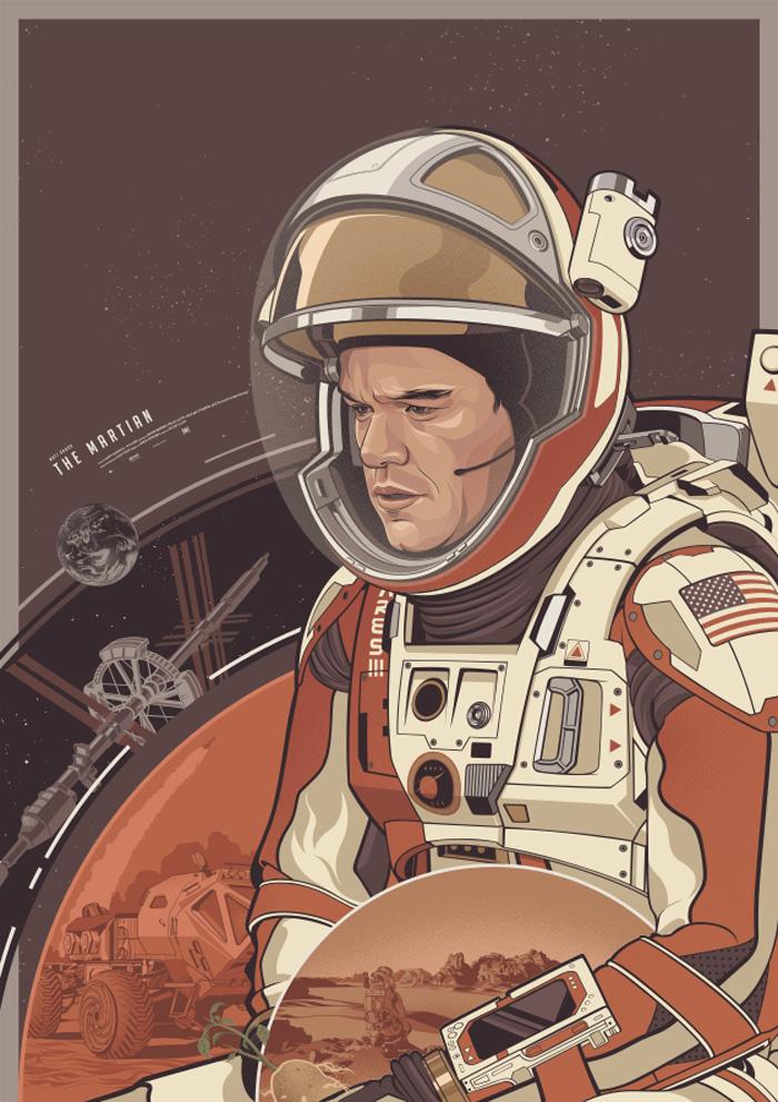 The Martian by Amien Juugo