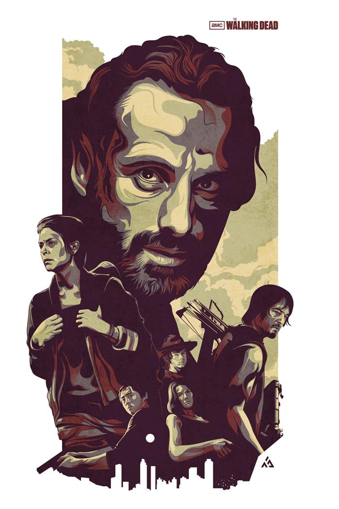 The Walking Dead by Amien Juugo