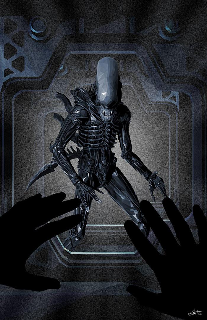Alien by Simon Delart