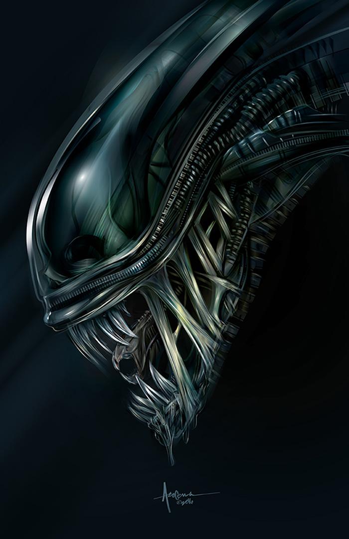 Alien by Orlando Arocena
