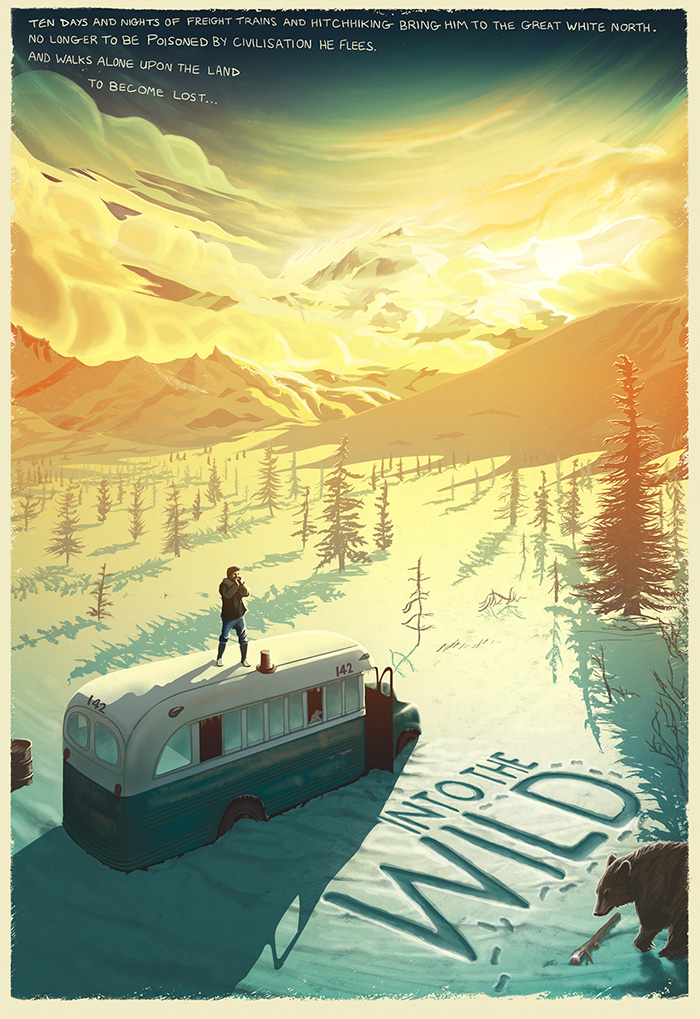 Image result for into the wild poster