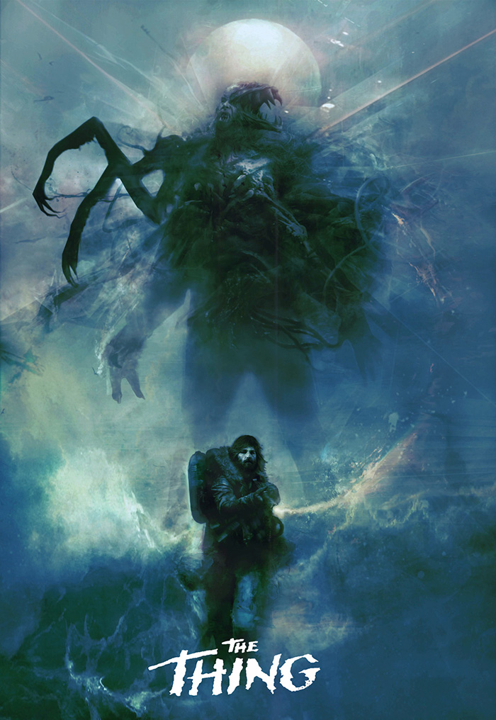 The Thing by Christopher Shy - Home of the Alternative Movie Poster -AMP-