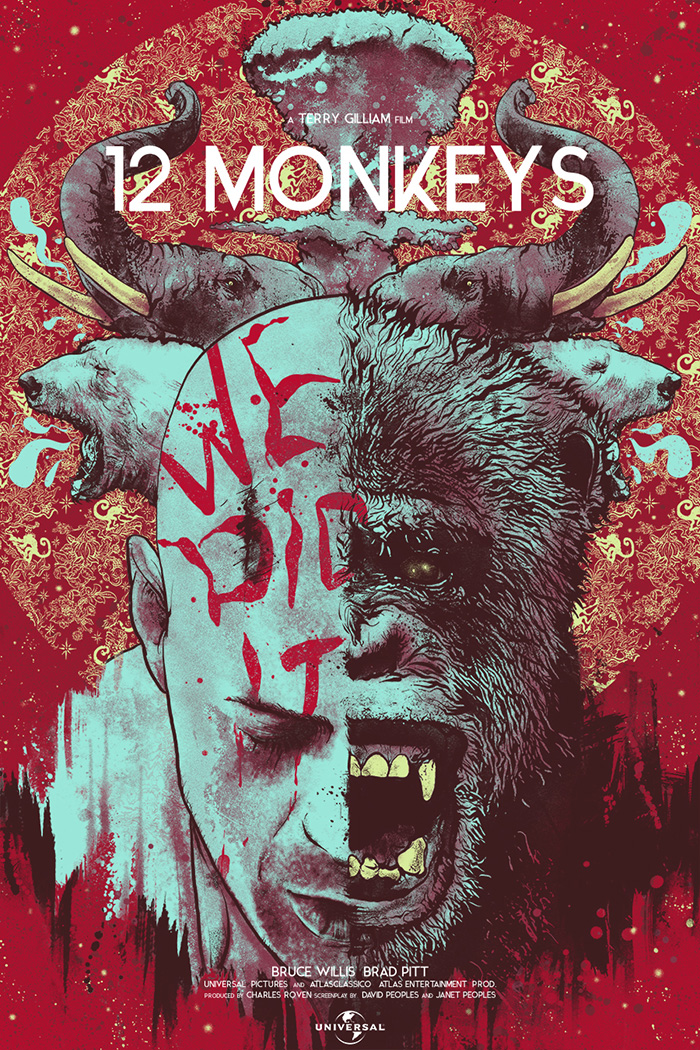 Twelve Monkeys by Nikita Kaun - Home of the Alternative ...